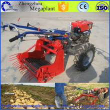 Time and labor saving single-row potato harvester