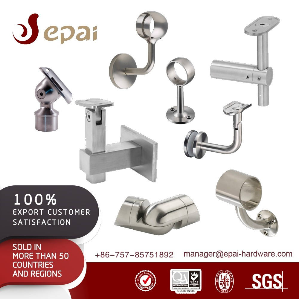 Durable stainless steel sus304 top mounted handrail bracket