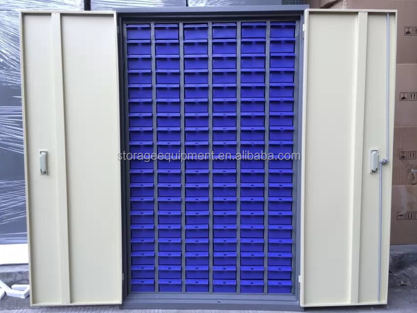 plastic drawer storage cabinets&parts storage cabinets with many small plastic box