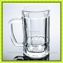 sublimation clear cold glass beer mug