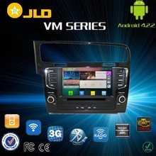 Android 4.2 car audio gps navigation system for Volkswagen Golf