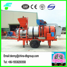 15t/h China factory mobile mini asphalt bitumen mixing plant price SLB-15