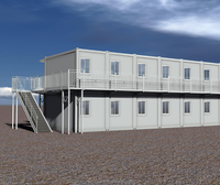 20FT & 40FT Expandable Combined Flat Pack Modular Container House