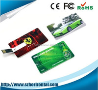 Cheapest usb card pendrive credit card usb flash , slim card pendrive OEM 1GB