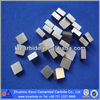 customize carbide square inserts used for brazing on tool bar for turning machine