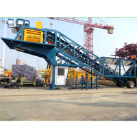Mobile Cement Batching Concrete Mixing Plant On Sale