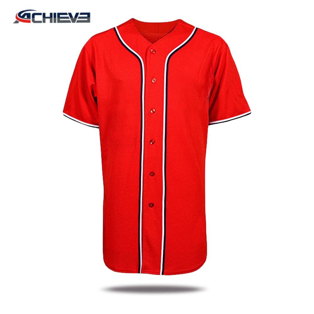 2017 good selling baseball jersey for team