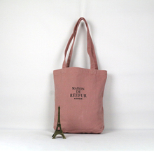 Free sample china wholesale canvas beach tote bags women handbags for shopping