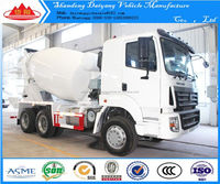 Howo 10 Wheelers 16 Cubic Meters Concrete Mixer Truck For Sale