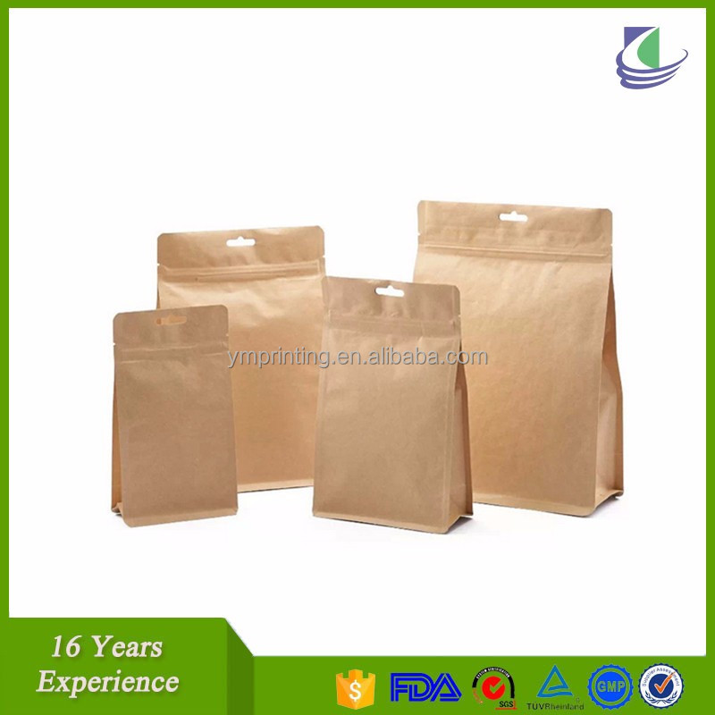 oem stand up or not stand paper laminated bag
