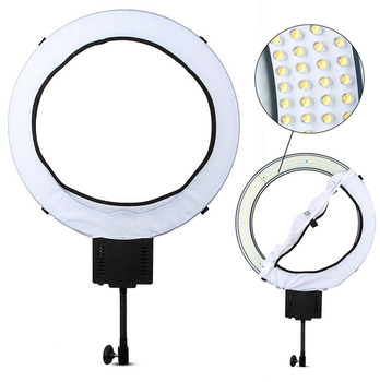 Super bright ring light led NanGuang CN-R640 led ring lamp led video light for Makeup Beauty Photography