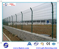 Guangzhou factory supply 4mm PVC-coated fence mesh with opening 90*170mm