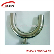 Stainless Steel Quick U Type Three Way Pipe Elbow Connection Joint Fitting