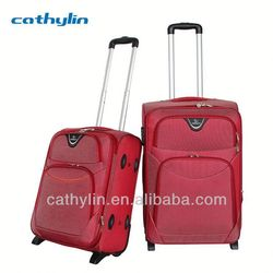 Nylon EVA luggage cheap kid\s penguin trolley luggage