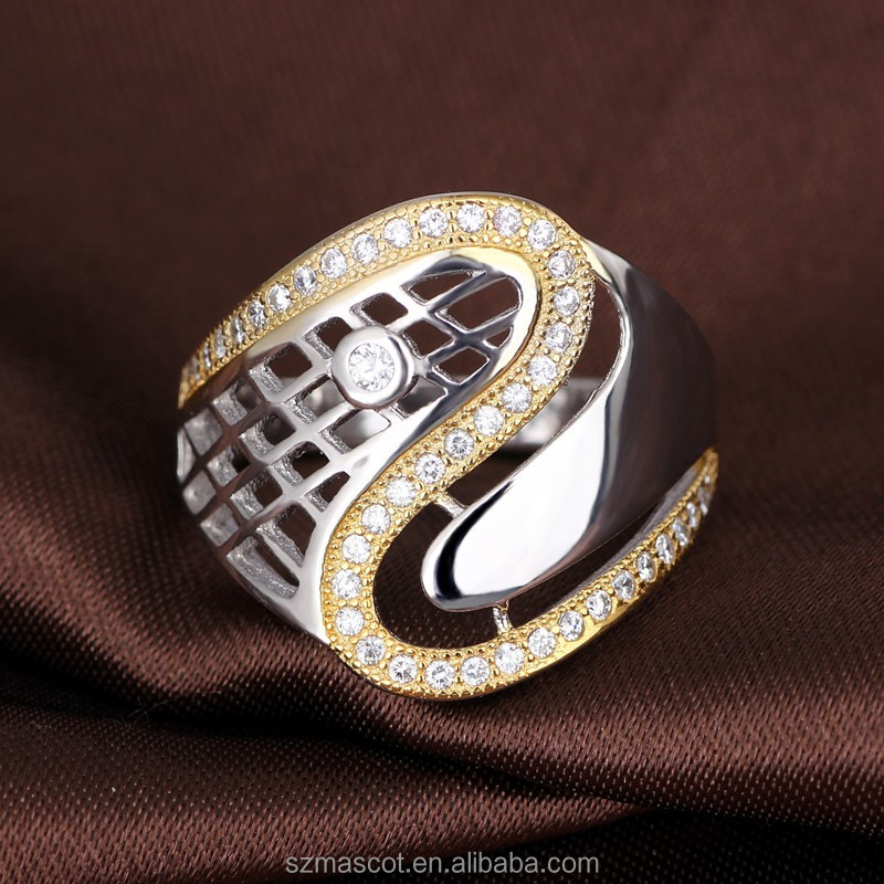 New Brass Big Mens Rings Indonesia Ring