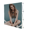 New Tension Fabric backdrop Trade Show Exhibition Booth Pop Up Wall Display Systems Stand