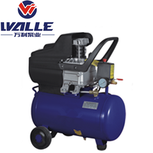 Air Compressor Manufacturer Directly Supply Industrial Portable Belt Driven Two Cylinder Piston Air Compressor