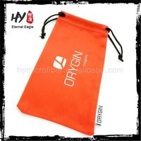 manufacture soft sunglass casewith pvc bag,cotton sunglasses pouch,customized small drawstring pouches