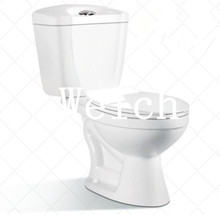 8186 dual power flushing two piece toilet