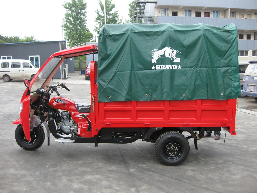 3 wheel bicycle with rain cover passenger tricycle