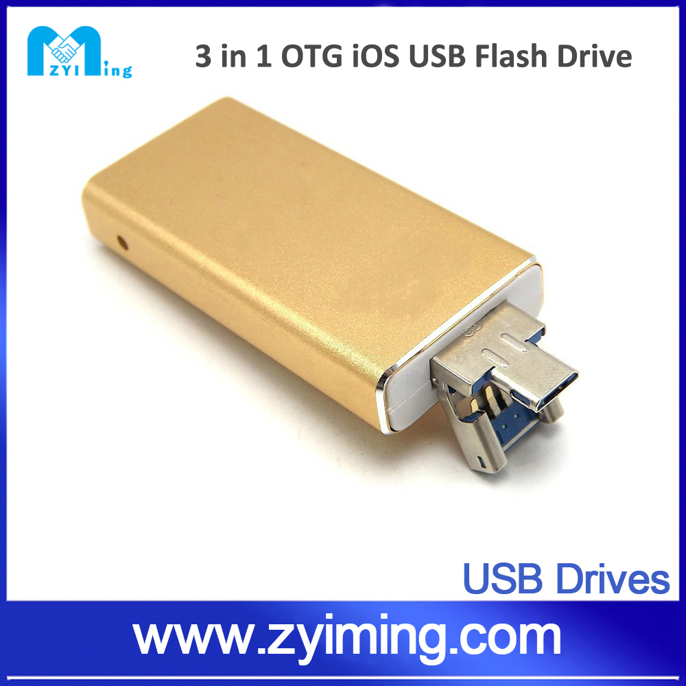 Zyiming New products USB flash drive 128GB made for iPhones, iPads & Computers