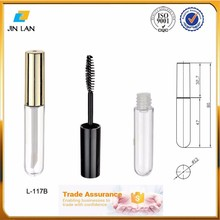 China Factory empty cosmetic mascara tube for 15ml mascara soft tube plastic package