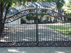 ranch residential gate designs