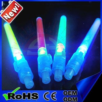 High quality colorful led light stick good item for star vocal concert