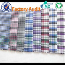 Yarn dyed cotton/polyester fabric from China