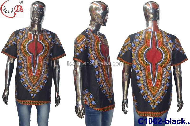 C1062 New design good quality latest african dashiki shirt for men 2016