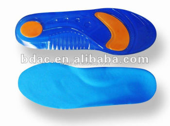 double color comfort SEBS insole