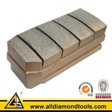 Metal Diamond Fickert Polish Bricks for Granite