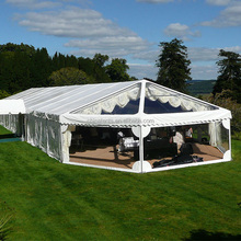 Wholesale Prevalent Big Outdoor White Party Marquee Tents Made In China