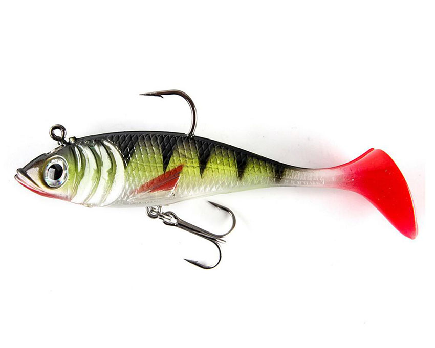 Soft Plastic Fishing Lure 18g 10cm Paddle Tail