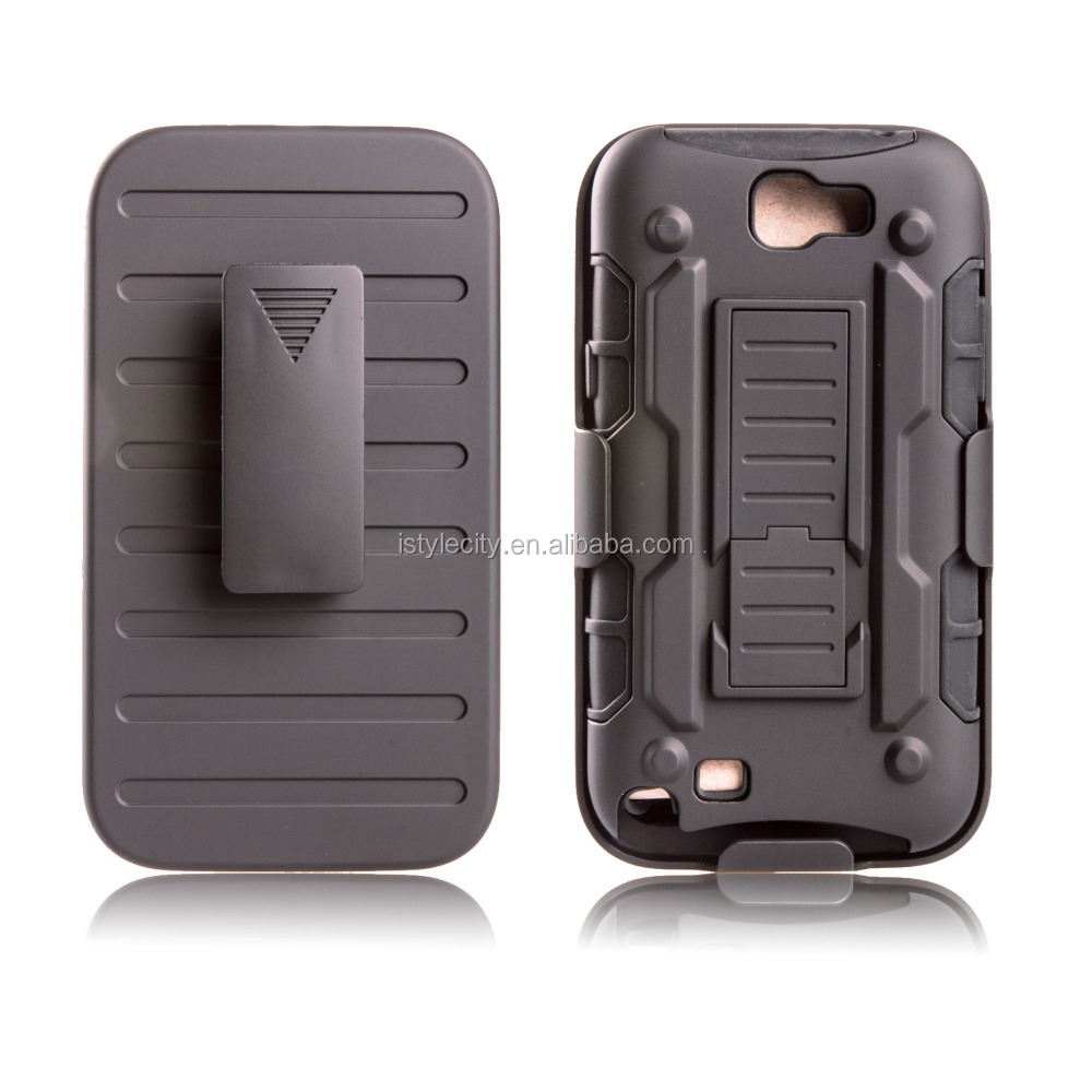 Belt Clip Case for Samsung Galaxy Note II 2 N7100