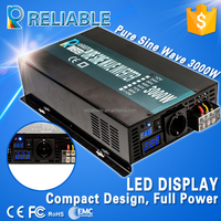 factory price 3000w off grid dc to ac solar pure sine wave power inverter