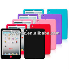 New Silicon/Rubber Chocolate button Tablet case For iPad Mini Tablet PC