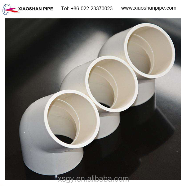 China supplier high pressure upvc pipe fittings PVC 45 degree elbow