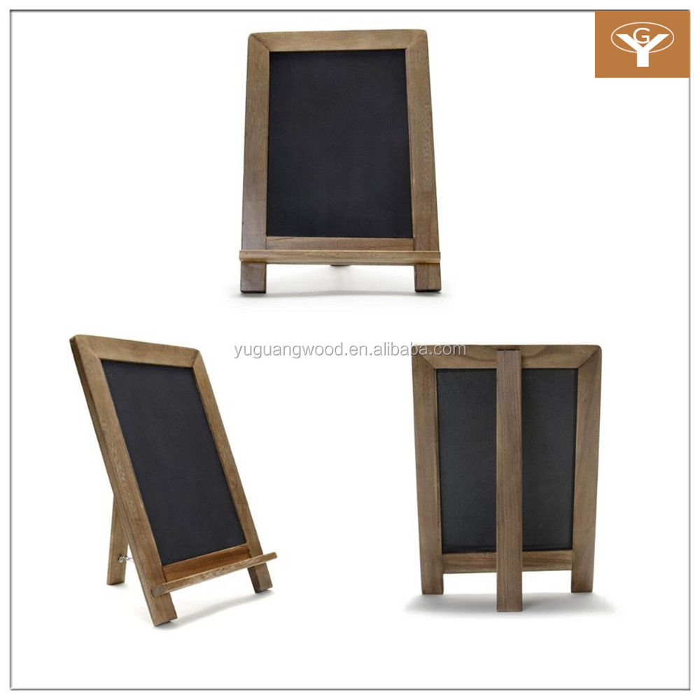 Vintage Slate Kitchen Chalkboard Decorative Standing Chalk Board