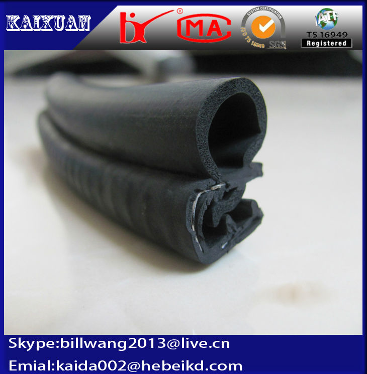 extrusion epdm/pvc/silicone automatic door rubber gasket