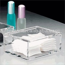 square acrylic napkin holder