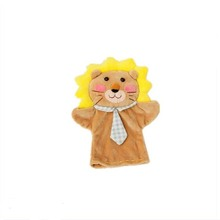 Hot selling quality Wholsesale children Customized story animal hand puppet animal hand