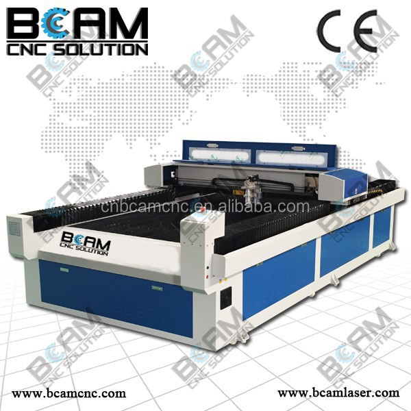 Metal and non metal metal laser fabric tailoring machine with laser tube