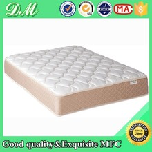 Leather soft bed memory foam 3 zone pocket spring mattress