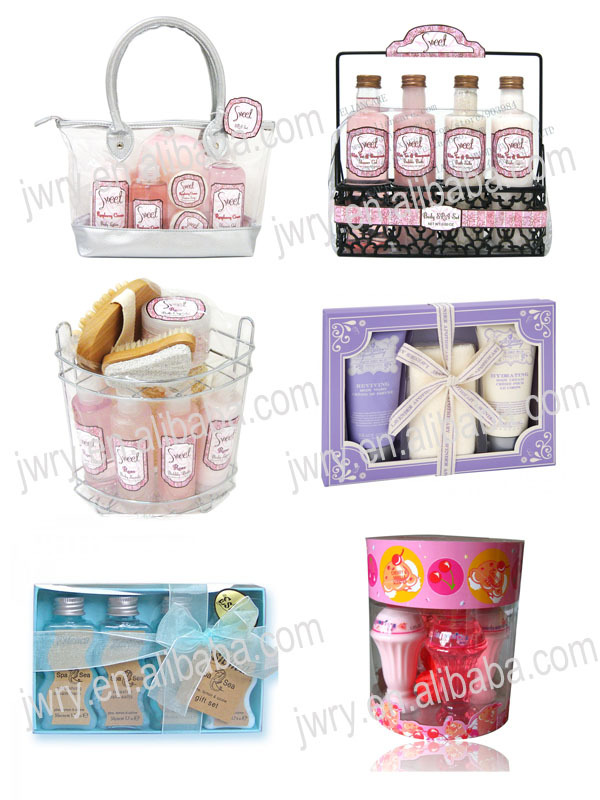 OEM BODY CARE SHOWER AND BATH GIFT SET WHOLESALE