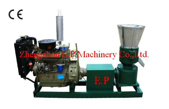 Diesel Engine Pelletizing Machine Hot Selling In Ukraine