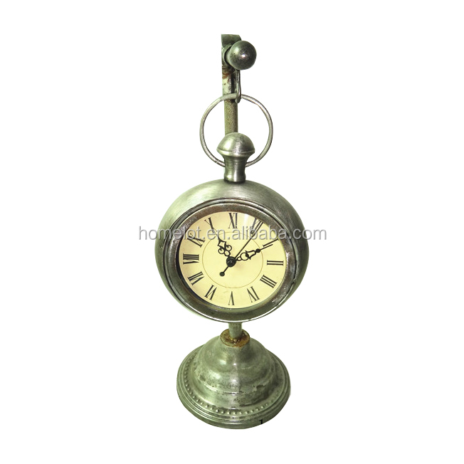 New Design Home Decorative Desk Clocks Funny Square Antique Alarm Clock