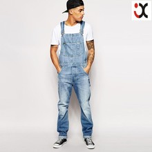 2015 cheap working overall men wholesale cheap jeans denim jumpsuit JXQ1206