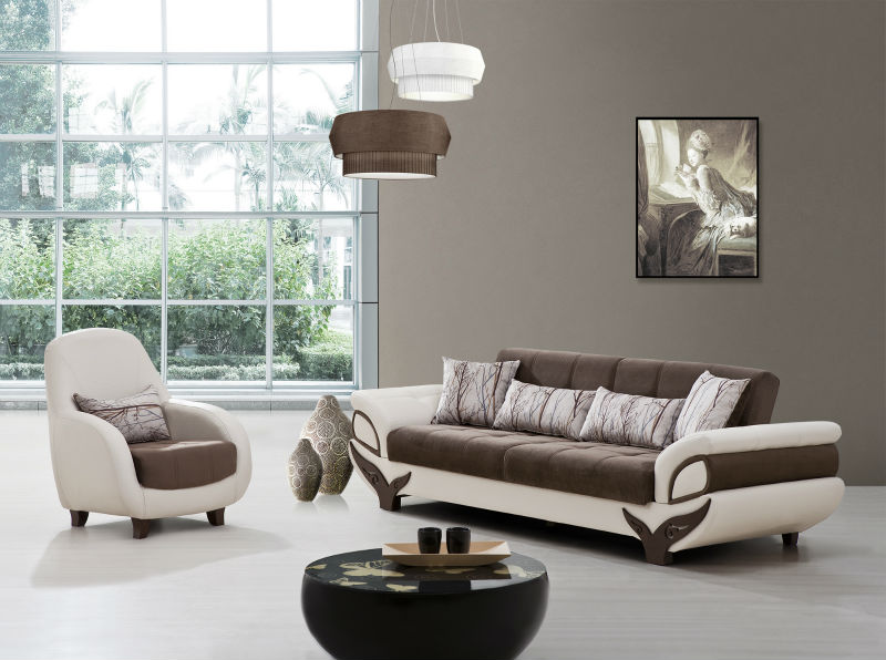 ego wooden modern sofa model