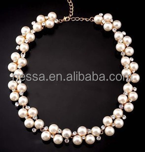 Fashion real pearl necklace price NSNK-21212
